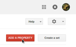 Google webmaster tools add property after 301 redirect