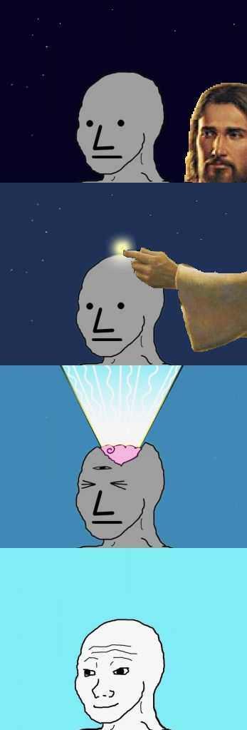NPC made conscious by God