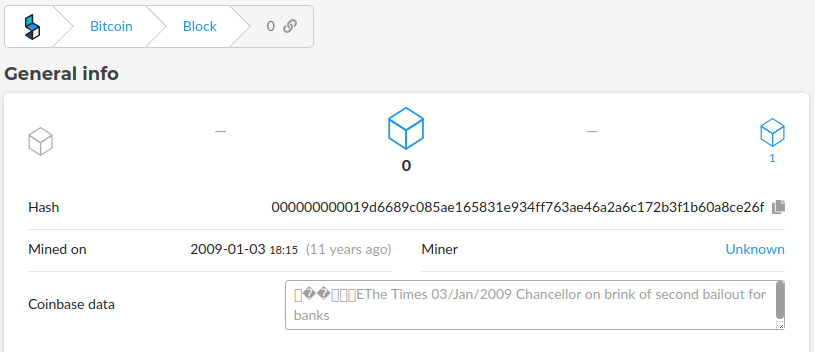 message in bitcoin genesis block