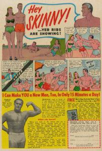 fitness comic